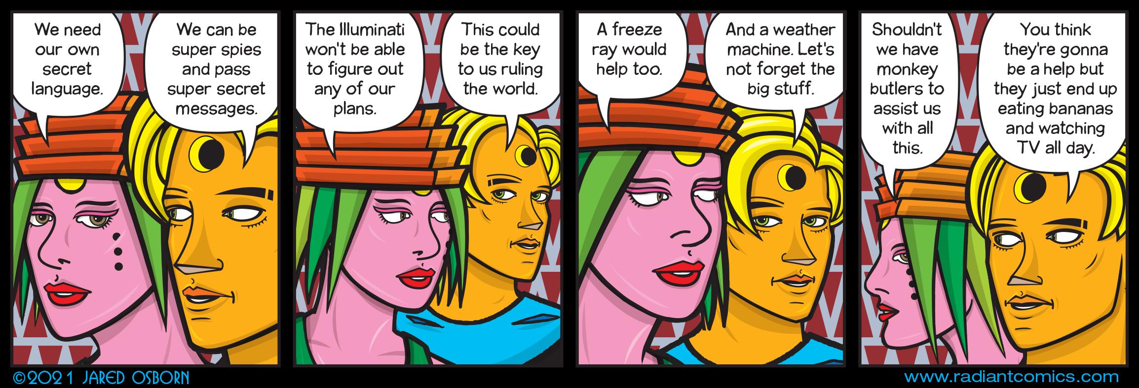 Four Talking Boxes 3049